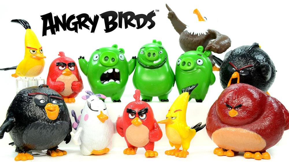 Игрушки Энгри Бердс Злые птицы