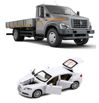 Модели легковых и грузовых машин