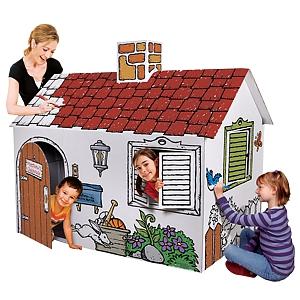 Картонные домики