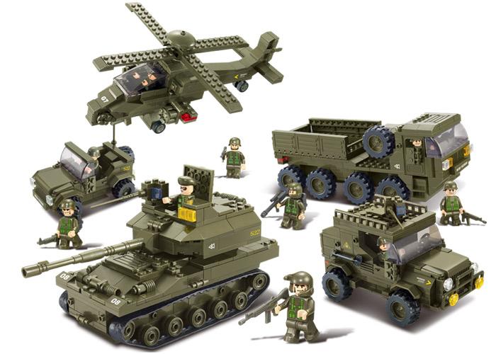 Игровые военные и полицейские наборы для мальчиков