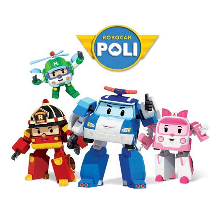 Игрушки Поли Робокар