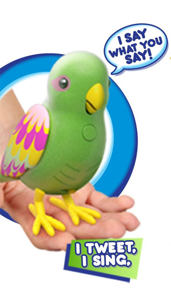 Интерактивные говорящие птички Little Live Pets