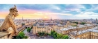 Пазл Вид с собора Парижской Богоматери 1000 эл панорама 29029 0