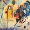 Пазл копия картины Желто-красно-синий Василий Кандинский 1000 эл 6000-3271 0
