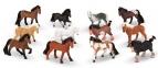 Игрушечная конюшня и фигурки лошадей 12 шт MD10592 0