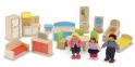 Мелисса и Дуг MD2462 Кукольный домик с подъемником и мебелью MD2462 0