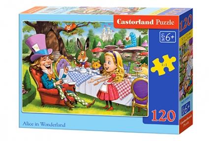 Пазл Алиса в стране чудес 120 эл