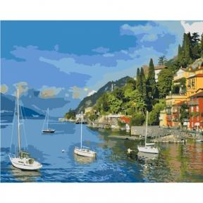 Картины по номерам Прибрежный отдых 40 х 50 см КНО2164 Идейка