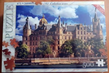 Пазл Замок Шверин 500 эл