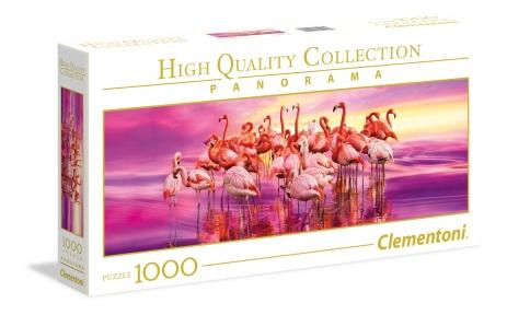 Пазл Танец фламинго 1000 эл панорамный