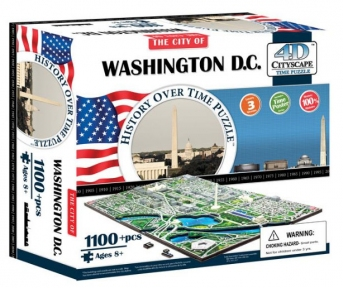 Объемный пазл Вашингтон, США 1100 эл+