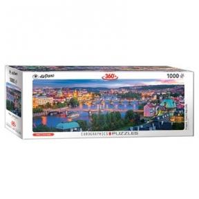 Пазл Eurographics Прага Чехия 1000 эл панорамный 6010-5372
