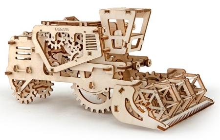 3D Пазлы Модель Зерноуборочный комбайн 154 дет Ugears