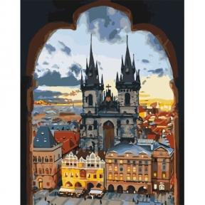 Картина по номерам Злата Прага 40 х 50 см КНО3568 Идейка