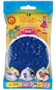 Термомозаика HAMA Набор синих бусин 1.000шт, Midi 5+