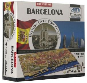 Объемный пазл Барселона, Испания 1200 эл+