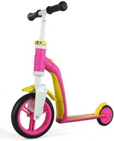 Самокат Scoot and Ride серии Highwaybaby розово-желтый, до 3 лет/20кг