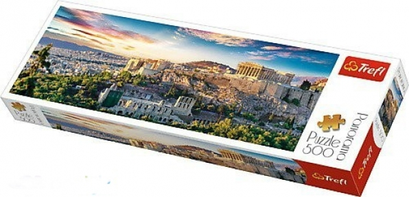 Пазл Акрополь Афины 500 эл панорамный
