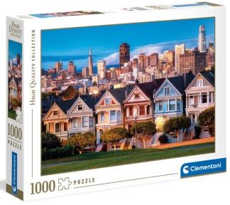 Пазл Цветные леди Сан-Франциско 1000 эл Clementoni