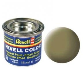 Краска эмалевая Revell № 42 Желто-оливковая матовая 14 мл