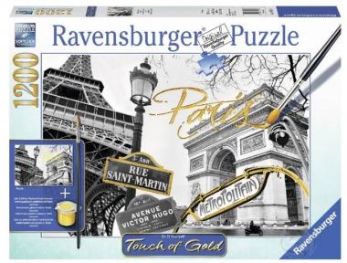 Пазл Ravensburger Золотой Париж 1200 эл