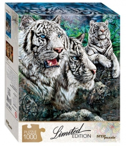 Пазл Найди 10 тигров 1000 эл