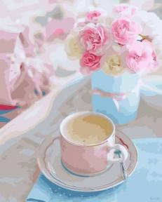 Картина по номерам Утренняя нежность 40 х 50 см Brushme