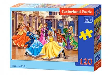 Пазл Принцессы на балу 120 эл