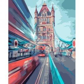 Картина по номерам Динамический Лондон 40 х 50 см КНО3570 Идейка
