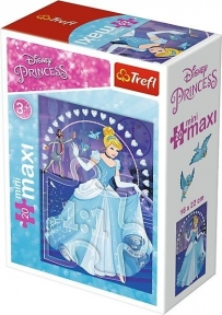 Пазл Принцессы Диснея Золушка 20 эл макси