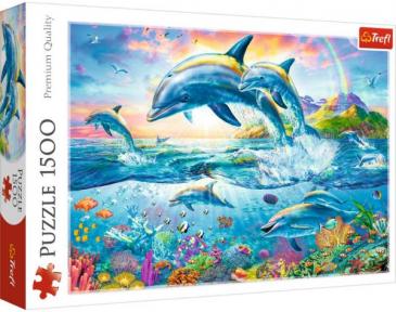 Пазл Семья дельфинов 1500 эл