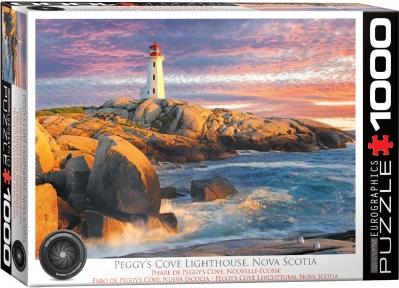 Пазл Eurographics Маяк Пегги Коув Новая Шотландия 1000 эл 6000-5437