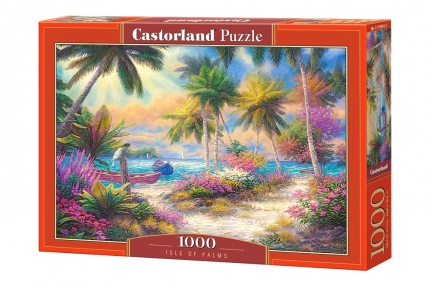 Пазл Пальмовый остров 1000 эл