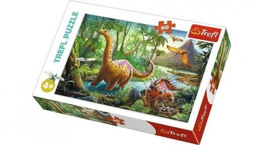 Пазл Прогулка динозавров 60 эл