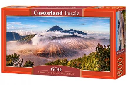 Пазл Вулкан Бромо Индонезия 600 эл панорамный