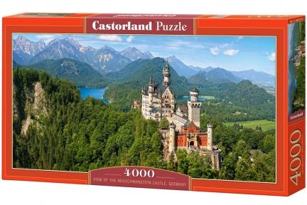 Пазл Вид на замок Нойшванштайн 4000 эл