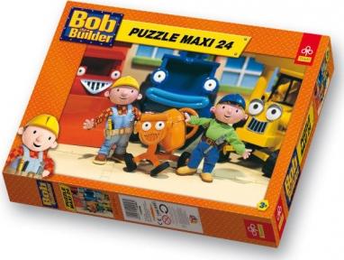 Пазл Боб строитель 24 эл макси