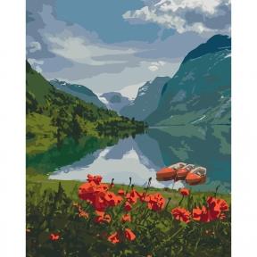 Картины по номерам Красота Норвегии 40 х 50 см КНО2256 Идейка