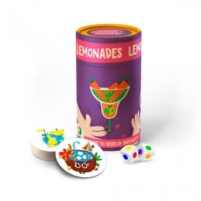 Игра настольная в бочонке Лимонады от 3 до 99 лет