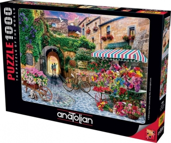 Пазл Цветочный рынок 1000 эл Anatolian