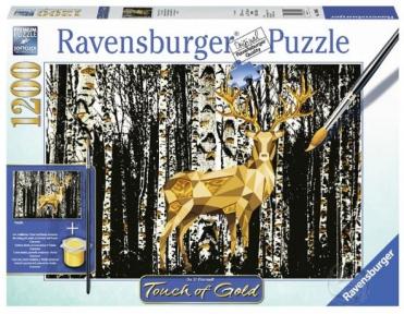 Пазл Ravensburger Олень в березовом лесу 1200 эл
