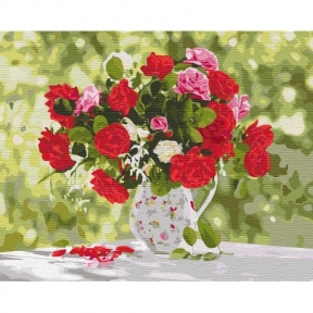 Картина по номерам Разнообразие красок Ira Volkova КНО3108 Идейка