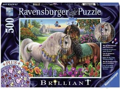 Пазл Ravensburger Пара лошадей 500 эл