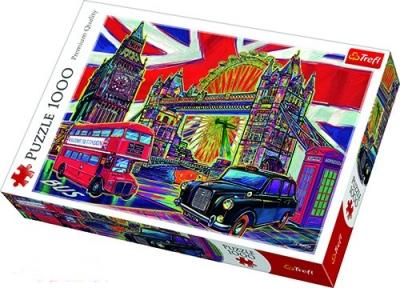 Пазл Цвета Лондона 1000 эл