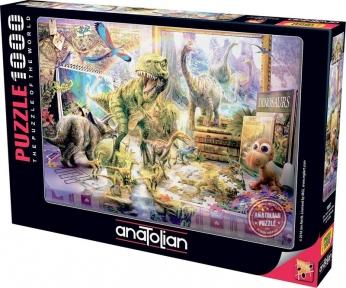Пазл Игрушечный динозавр оживает 1000 эл Anatolian