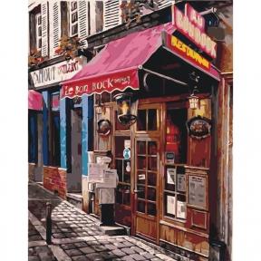 Картины по номерам Любимый магазинчик 40 х 50 см КНО2195 Идейка