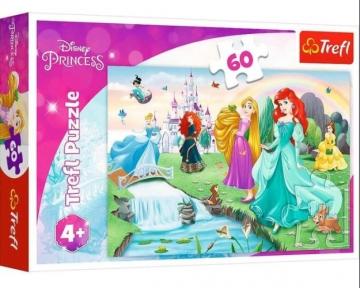 Пазл Встречайте принцесс 60 эл Trefl