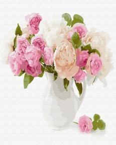 Картина по номерам Нежный букет цветов 40 х 50 см Brushme