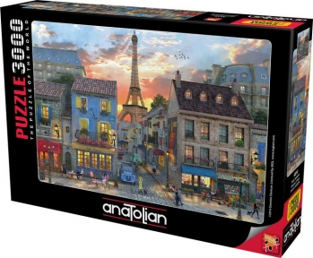 Пазл Улицы Парижа 3000 эл Anatolian