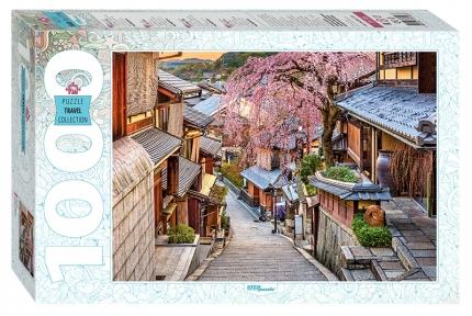 Пазл Япония Улица Киото 1000 эл